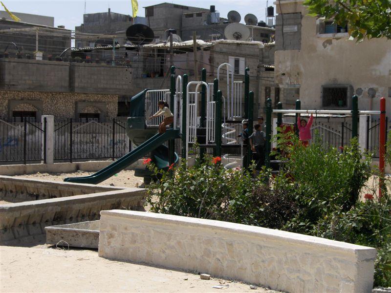 Rafah Playground Update