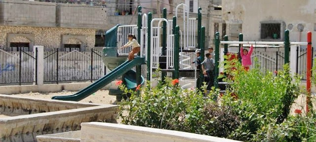 Completed Rafah Playground!