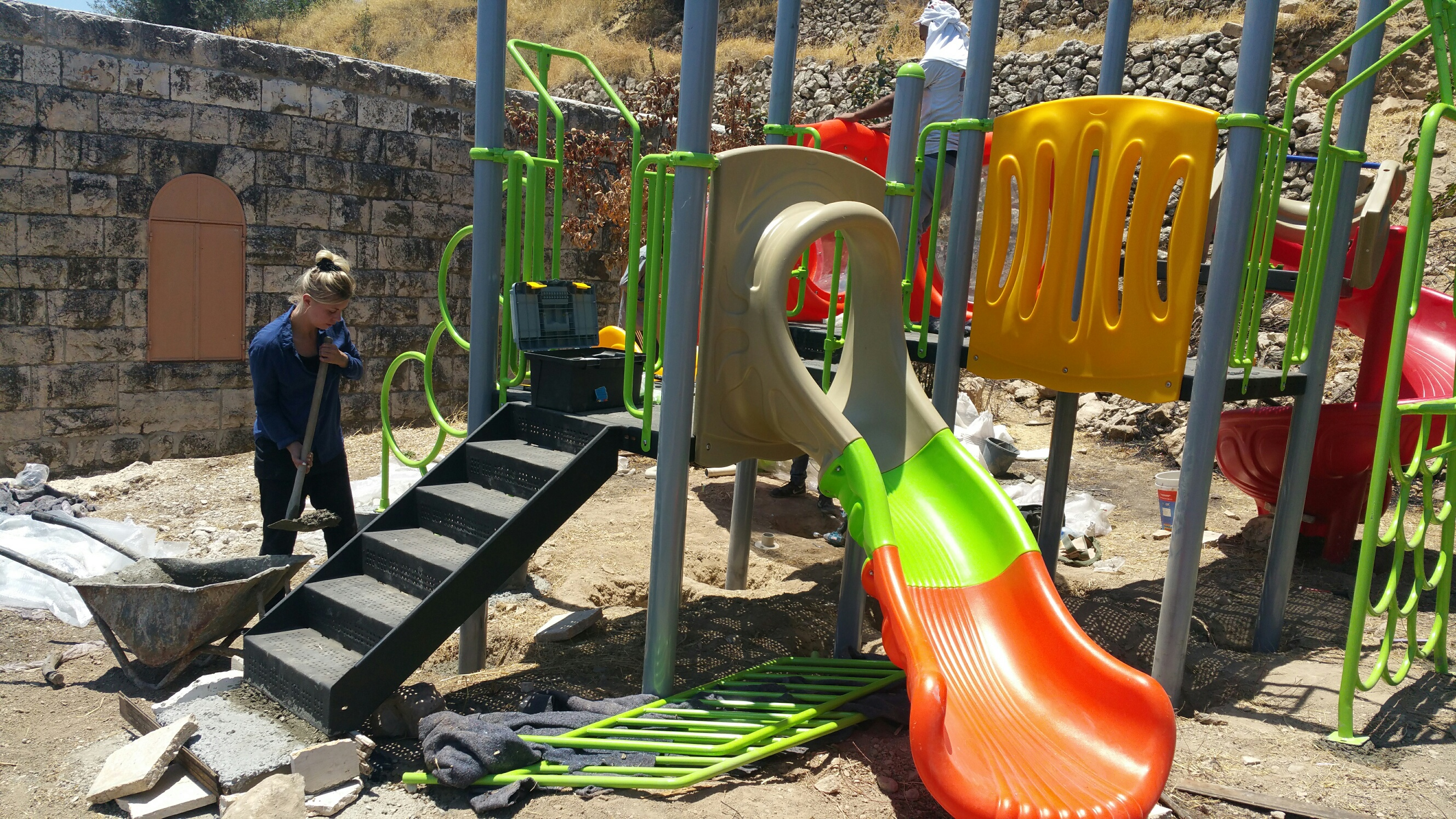 Hebron Playground, June - July 2016
