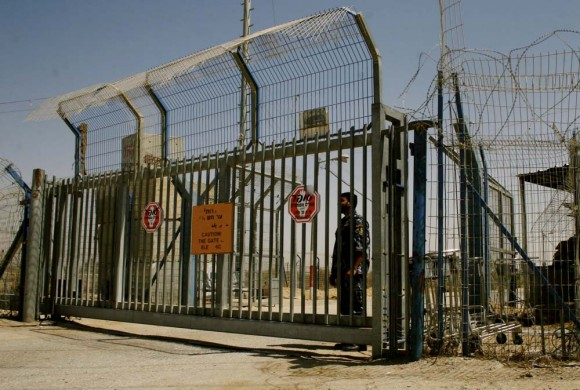The Rafah border crossing. (Image via RafahToday.org)